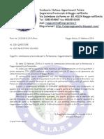 Missiva Commissione Aggiornamento Professionale