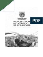 Plan de Desarrollo 2012-2015 Por Una Pereira Mejor