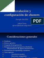 Instalacinyconfiguracindeclusters