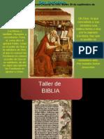 Taller Biblia1