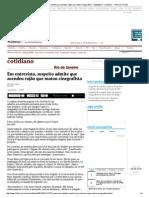 Em entrevista, suspeito admite que acendeu rojão que matou cinegrafista - 12_02_2014 - Cotidiano - Folha de S