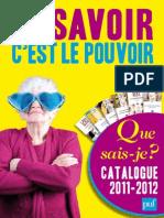 BD Catalogue QSJ2011