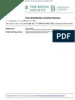 Distribucion de Biomas