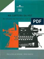 Na Captura da Voz - As edições da narrativa oral no Brasil