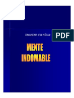 Analisis Mente Indomable