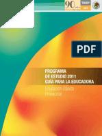 Programa de Educación Preescolar PEP 2011