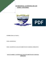 Ensayo Sobre La Gestion de Almacenamiento de Un Sisitema Operativo