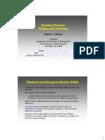 Chemical Warfare- History & Chemistry