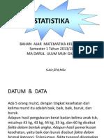 Statistika Print Out