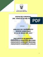 Ejecucion+Presupuestaria+Marzo+2013++ ++Distritos+Chiclayo+Publicar