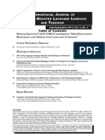 Web 2.0 for Language Learning:Benefits and Challenges for Educators