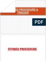 Stored Procedure & Trigger