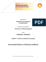 T+®cnicas y T+ícticas grupales