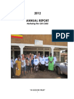 Mindset Development Organisation Annual Report 2012
