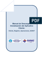 Sunat IQBF Manual 002 DescargaEInicializacionDelAplicativoCliente ClienteRegistroOperaciones SUNAT