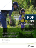 Ontario 2014 Fishing Regulations