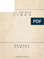 Soledad Fariña - El primer libro