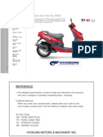 Hyosung Sf50 Prima 2007 Part Catalogue