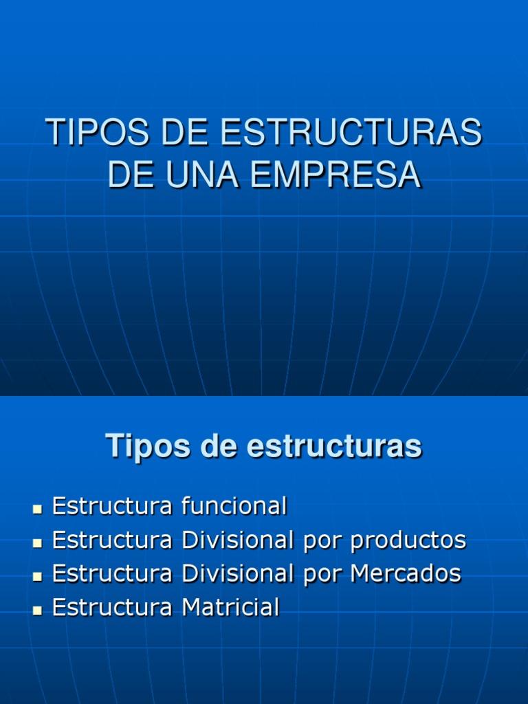 Tipos De Estructuras De Una Empresa Act 3 Sem 2 Product