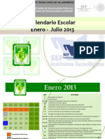 Calendario Enero-jul 2013 Ff