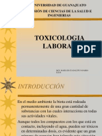 Clase 28 Toxicologia Laboral