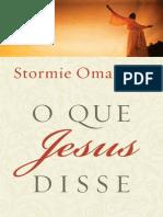 Livro eBook o Que Jesus Disse