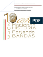 Convocatoria Concurso de Bandas de Guerra Calderon 2013