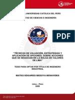 Bedoya Benavides Mateo Valuacion Bolsa Valores Lima