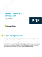 Q2 2013 Earning Call_August 19, 2013