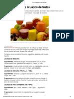 Cinco Recetas de Licuados de Frutas