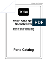 CCR 3000 Parts Catalog