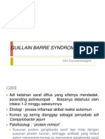 Guillain Barre Syndrome (Gbs)