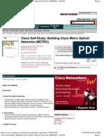 Cisco Study_ Building Cisco Metro Optical Networks (METRO) - $