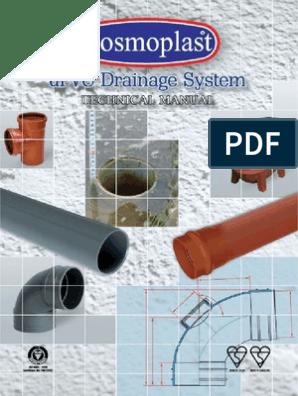 "Branch Grey 4/"" Sewerage 90 67 45 Degree Soil Pipe 110 mm Push-Fit"