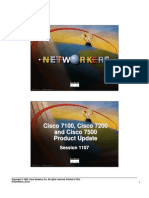 Cisco 7100, 7200 and 7500 Product Update