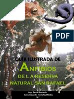 Guia Ilustrada de Los Anfibiosde La Reserva Natural San Rafael -Fusagasuga