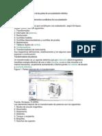 Componentes y su función de las partes de una subestación eléctrica