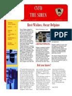 CVFD Newsletter 2012 Jan
