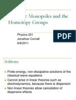 Monopoles