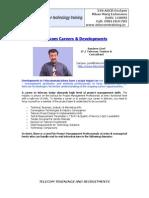 Telecom Careers & Developements