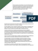01 Estatuto Epistemologico de La Sociologia de La Educacion