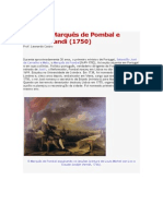 A era do Marquês de Pombal e Antônio Landi