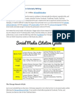How to Cite Social Media in Scholarly Writing _ SAGE Connection – Insight