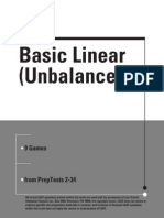 Basic Linear Unbalanced