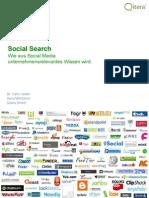 Qitera Social Search for MI 300909