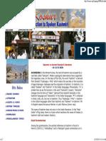 ARTICLE - Kashmir in Ancient Sanskrit Literature