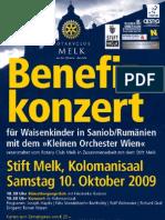 Stift Melk Konzert Oktober 2009