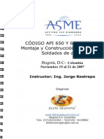 Curso API 650 en Espanol