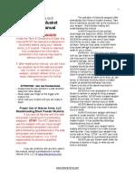 Vet Arms Matchlock Manual PDF