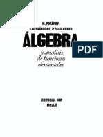 Algebra y Analisis de Funciones Elementales